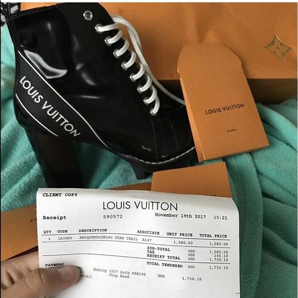 208ca18def57 Louis Vuitton Star Trail Boots size EURO 38   US 8
